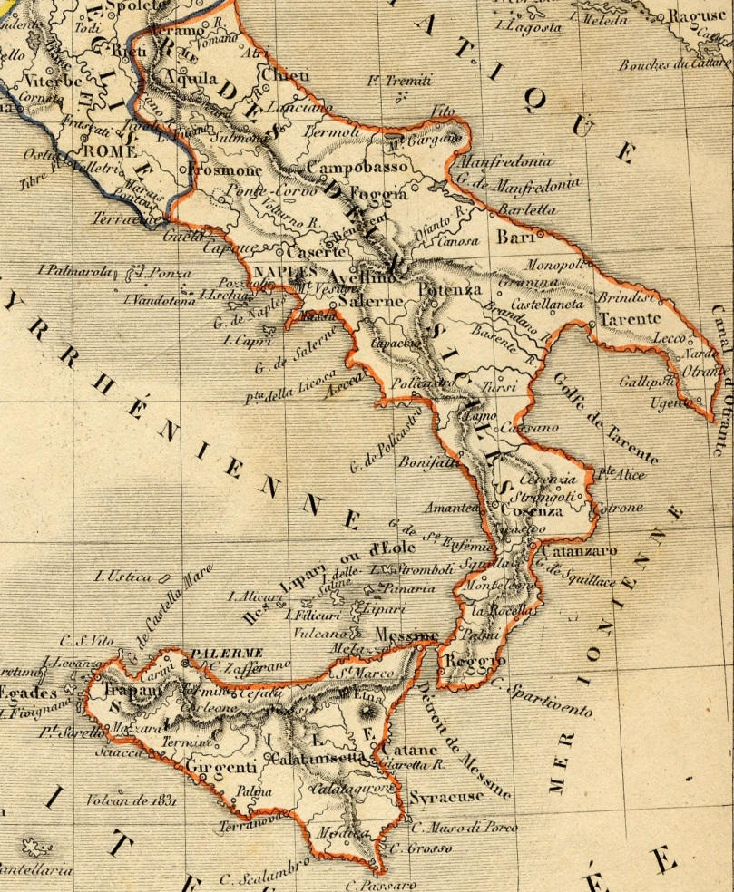 Carte_italie_1843 - Copie