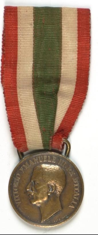 Médaille pour l'unité italienne 1848- 1918