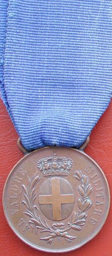 Médaille à la valeur militaire, classe bronze