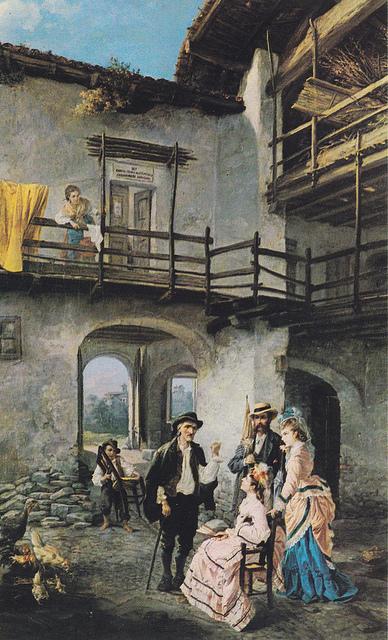 Tortona et la civilisation paysanne.- généalogie en Italie